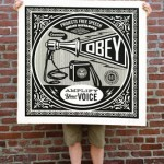 Shepard Fairey – Three New Large Format Album Prints Available 3rd May