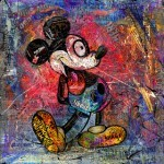 "Rourke Van Dal ""Mickey Mouth"" New Print Available Now"