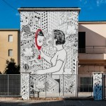 Millo creates a new piece for Memorie Urbane in Gaeta, Italy