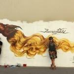 Miss Van x Dan Quintana New Mural In Los Angeles, USA