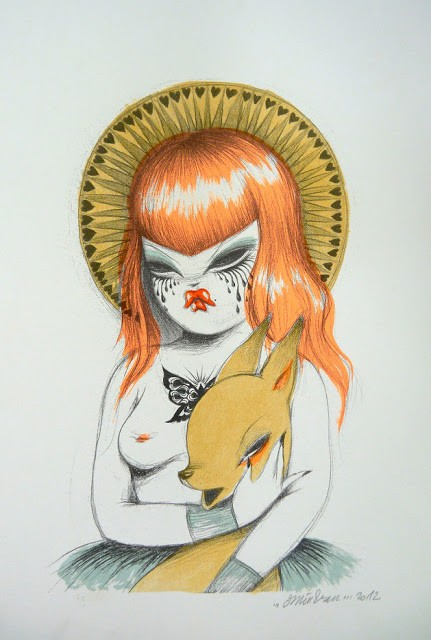 "Miss Van ""Virgen"" New Print Available Now"