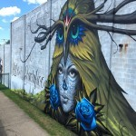 Jeff Soto and Maxx242 collaborate on a mural in Rochester, USA