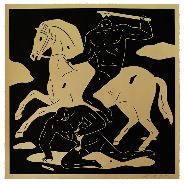 "Cleon Peterson ""The Nightcrawler"" Limited Edition Screen Print"