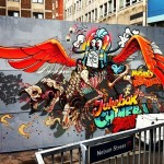 Nychos x Flying Fortress New Mural In Bristol, UK