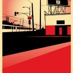 """Shepard Fairey """"SD Billboard"""" New Print Available 14th April"""