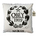 Shepard Fairey – Flour Sack Pillow Available Now!