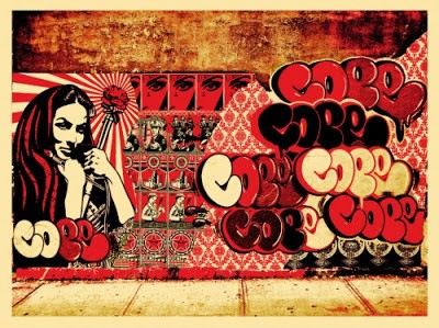 "Shepard Fairey ""Obey x Cope2 x Cooper"" New Print Available 21st April"