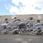 Phlegm New Mural In Albany, USA