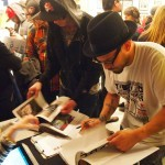 Outdoor Gallery – Book Launch – NYC – 2/22/14 – Curated by Yoav Litvin & Royce Bannon