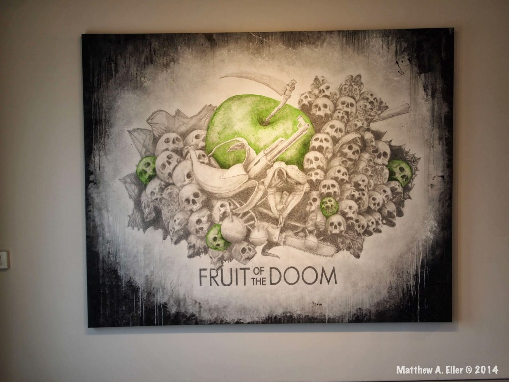 """Ludo Interview & Solo Show """"Fruit of the Doom"""" @ Jonathan Levine Gallery, NYC"""