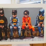 "Fintan Magee – ""3 Bats and a Bird"" Print Release – Under The Bridge Gallery Brooklyn, NYC"