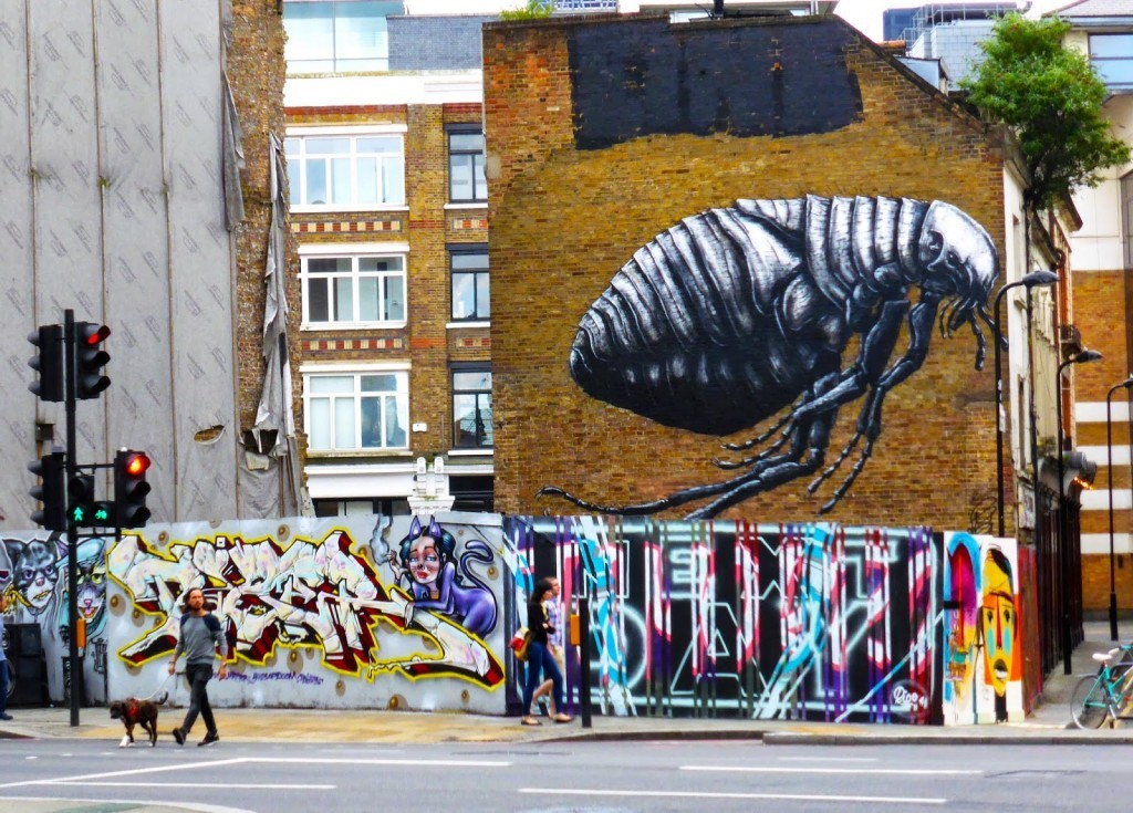 ROA New Mural – East London, UK