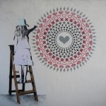 "STATIC ""Little Vandal Mandala"" New Mural In Hiroshima"