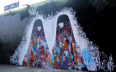 Hush New Mural In Los Angeles