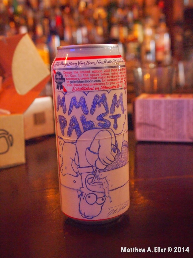 A Blank Canvas – An Art Show Feat. PBR Cans – Project Parlor – Brooklyn, NYC