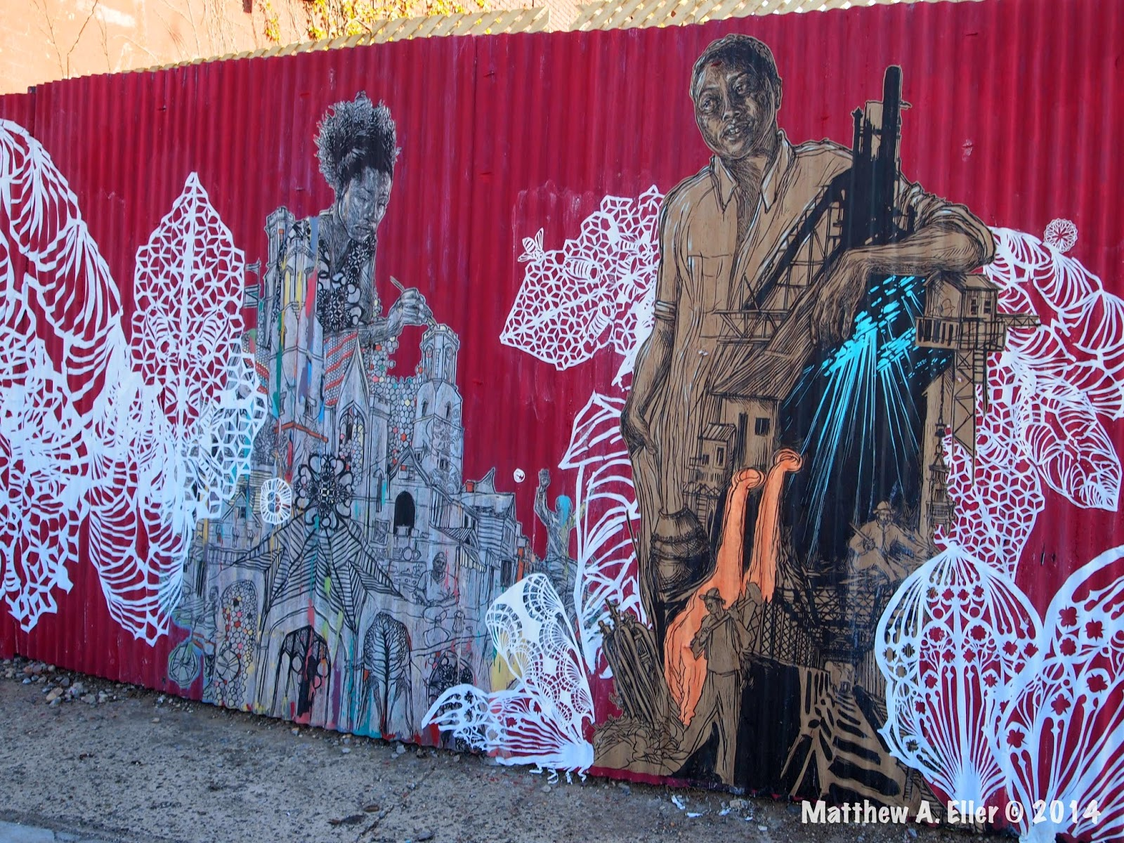 Swoon New Street Piece Brooklyn Nyc Streetartnews