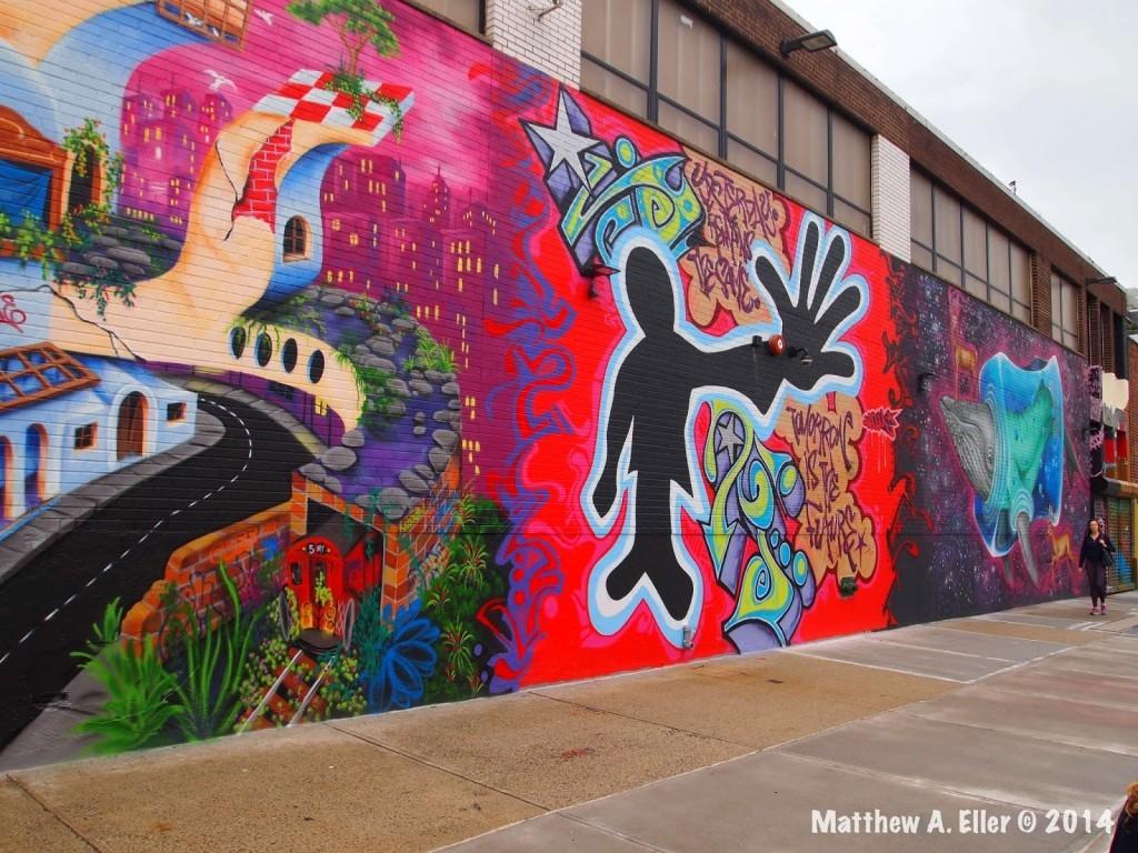 106 Bayard Graffiti Project feat. Futura 2000, Dr. Revolt, Lady Pink, and more… – Brooklyn, NY