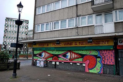 Paul Insect & Sweet Toof – New Street Pieces – East London