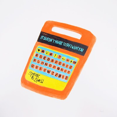 "Pacolli ""Speak & Spell"" New Print Available @ POW Now!"