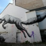 ROA New Mural In Vienna, Austria