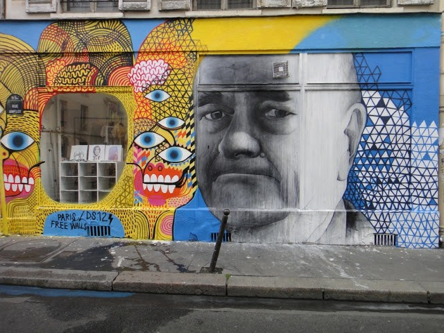 David Shillinglaw x Ben Slow New Mural In Paris