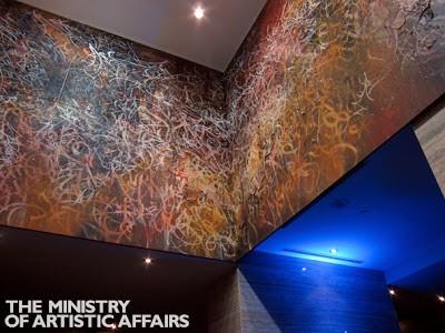 José Parlá New Mural @ Concord City Place Toronto