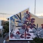 Pastel paints a new mural in Playa del Carmen, México