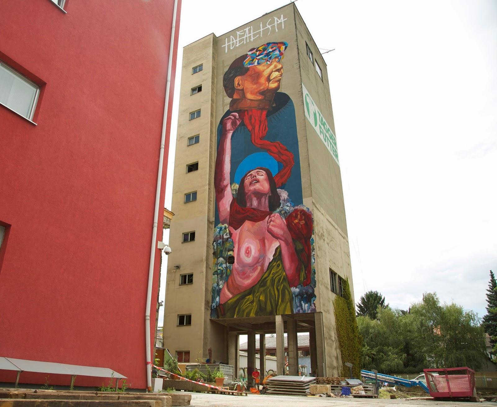 Ever New Mural – Graz, Austria