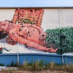 Pixel Pancho New Mural For Memorie Urbane – Gaeta, Italy