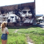 Guido Van Helten unveils a new piece in Port Kembla, Australia