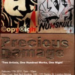 Copyright x Numskull 'Precious Waste' Show 17th February London