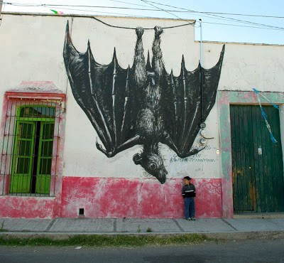 Roa New Pieces In Mexico