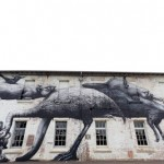 ROA New Mural In Sydney, Australia