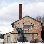 ROA New Mural In Stockholm, Sweden