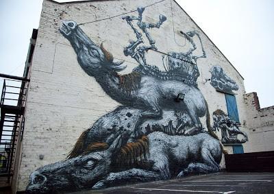 New ROA Street Mural In Newcastle