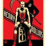 Shepard Fairey 'Rollins 50' New Print Available 4th February