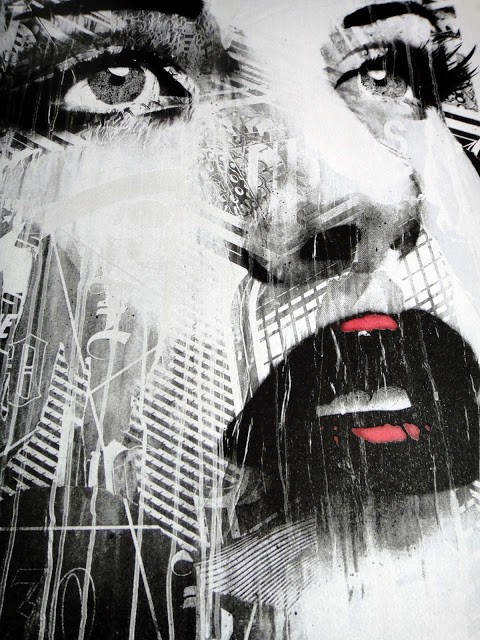 "RONE ""Silver Screen Dreams"" StreetArtNews Print Available May 10th"