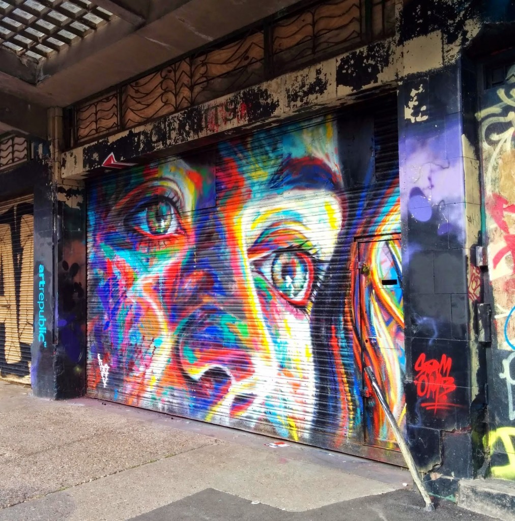 David Walker New Street Piece For Urban ArtFest 2014 – Brighton, UK