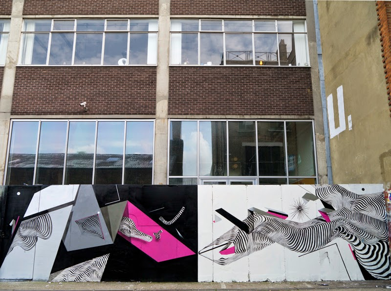 2501 x Remi Rough New Mural – London, UK