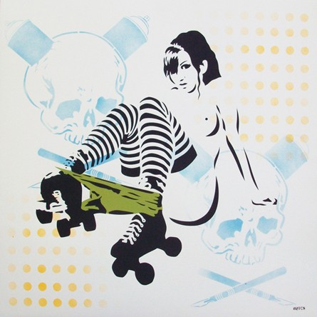 Hutch 'Rollergirl' Print Available Now