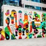 Ruben Sanchez unveils a massive piece in Dubai, UAE