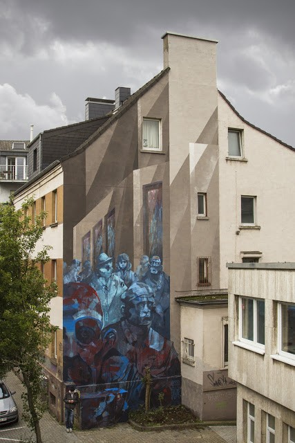Sepe & Chazme unveil a new piece in Dortmund, Germany