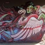 Nychos x Shida New Mural In Vienna, Austria