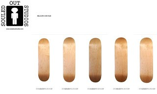 Skate Decks Coming Soon @ Souled Out Studios!