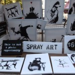 Banksy Sells Original Artworks For 60$ In Central Park, New York City
