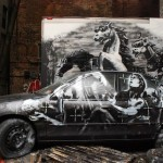 Banksy New Street Piece For Better Out Than In – Lower East Side, NYC
