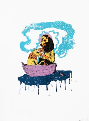 "Saner ""Free Souls"" New Prints Available @ POW Now!"