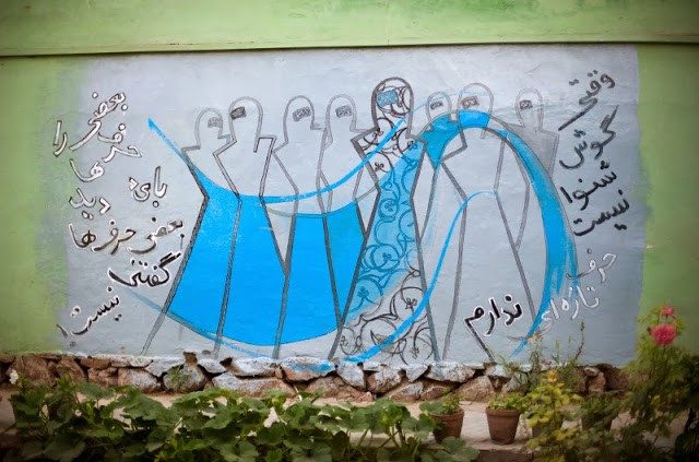 Women & Street Art in the Middle East