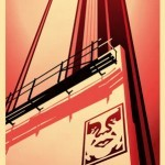 """Shepard Fairey """"Sunset & Vine Billboard"""" New Print Available March 31st"""