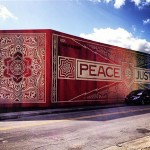 Shepard Fairey x RISK New Mural In Miami, USA